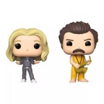 Parks and Recreation - Ron & Leslie 2 pack Pop! Vinyl Figure - Packshot 1
