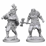 Dungeons & Dragons - Nolzur's Marvelous Miniatures - Human Male Barbarian - Packshot 1