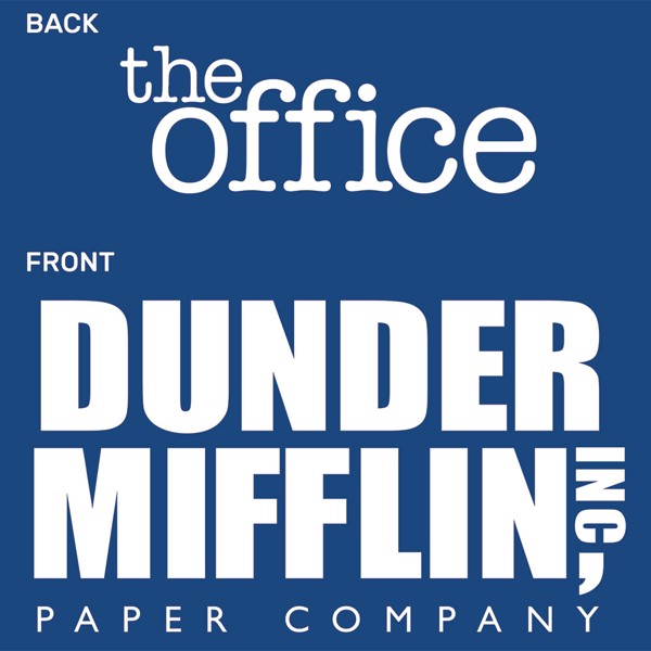 The Office - Dunder Mifflin Female T-Shirt - Packshot 3