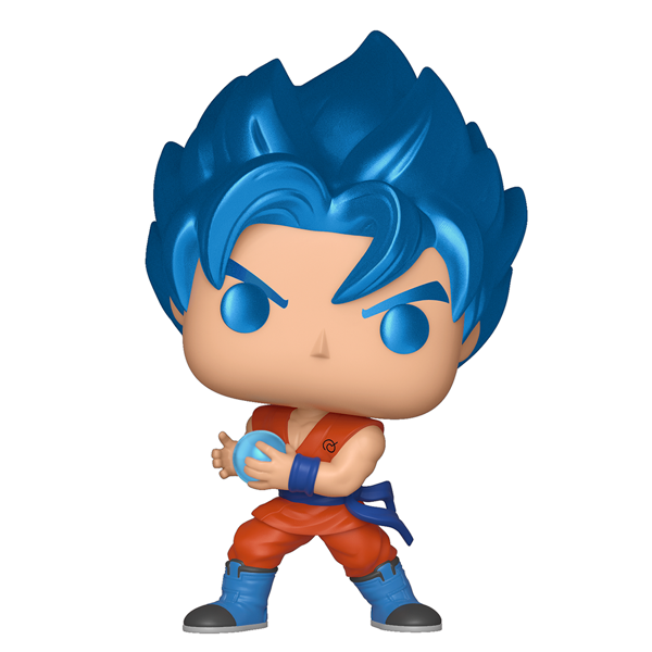 Dragon Ball Z - SSGSS Goku w/Kamehameha Metallic Pop! Vinyl Figure - Packshot 1