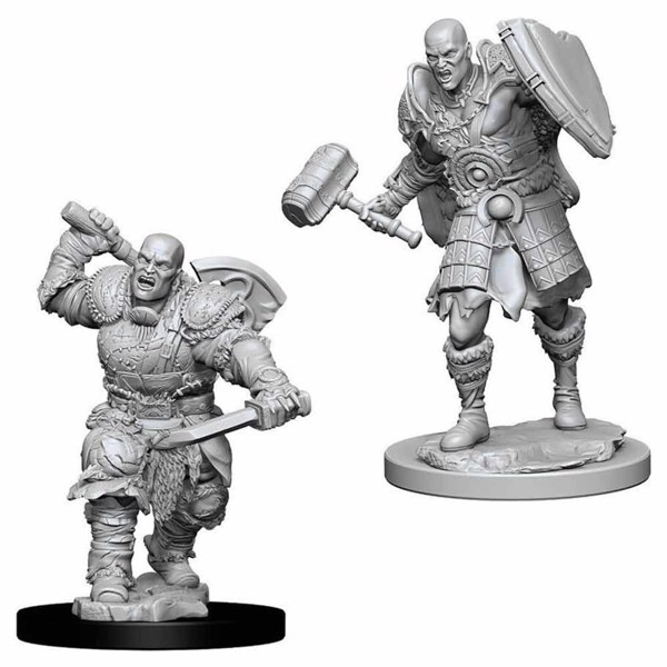 Dungeons & Dragons - Nolzur's Marvelous Miniatures - Male Goliath Fighter - Packshot 1