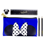 Disney - Minnie Mouse Pencil Case with Stationery Set - Packshot 1