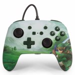 Nintendo Switch PowerA Wired Enhanced Controller - Hyrule Green - Packshot 1