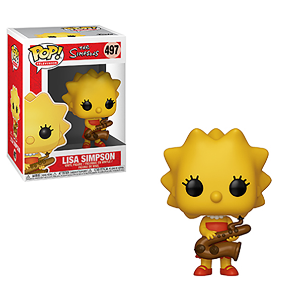 The Simpsons - Lisa (Saxophone) Pop! Vinyl Figure - Packshot 1