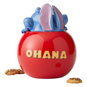 Disney - Lilo & Stitch - Stitch Ohana Ceramic Cookie Jar