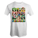 Nintendo - Super Mario Characters Gold Boxes T-Shirt - XL - Packshot 1