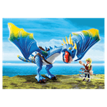 How to Train Your Dragon - Astrid and Stormfly PlayMobil Construction Set - Packshot 2