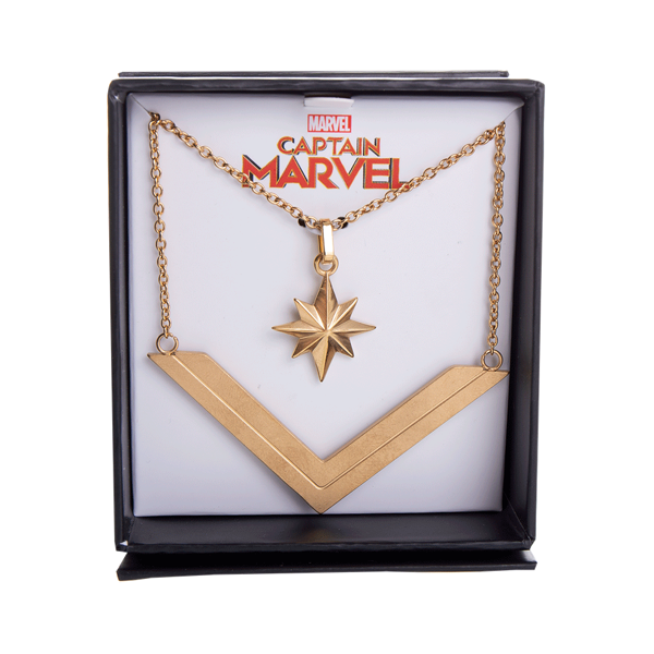 Marvel - Captain Marvel - Tiered Necklace - Packshot 1