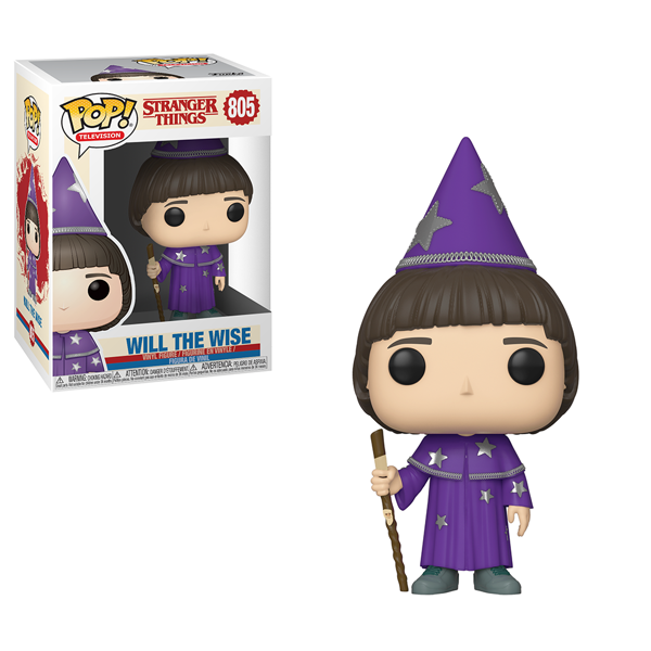 Stranger Things - Will the Wise Pop! Vinyl Figure - Packshot 1