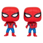 Marvel - Spider-Man facing Spider-Man Pop! Vinyl Figure 2-Pack - Packshot 1