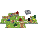 Carcassonne Board Game - Packshot 3