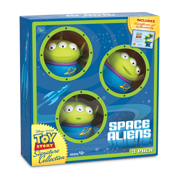 "Disney - Toy Story 4 Signature Collection - Aliens 5"" Figures 3-Pack - Packshot 2"