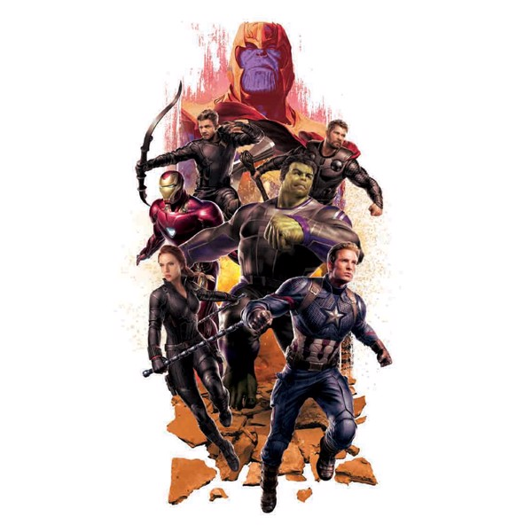 Marvel - Avengers: Endgame - Thanos and Avengers T-Shirt - XL - Packshot 2