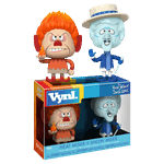The Year Without A Santa Claus - Heat Miser & Snow Miser Vynl. 2-Pack Vinyl Figure - Packshot 1