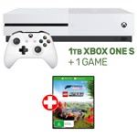 Xbox One S 1TB Console + 1 Game - Packshot 1