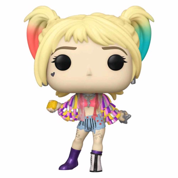 DC Comics - Birds of Prey - Harley Quinn Caution Tape Jacket Pop! Vinyl Figure - Packshot 1