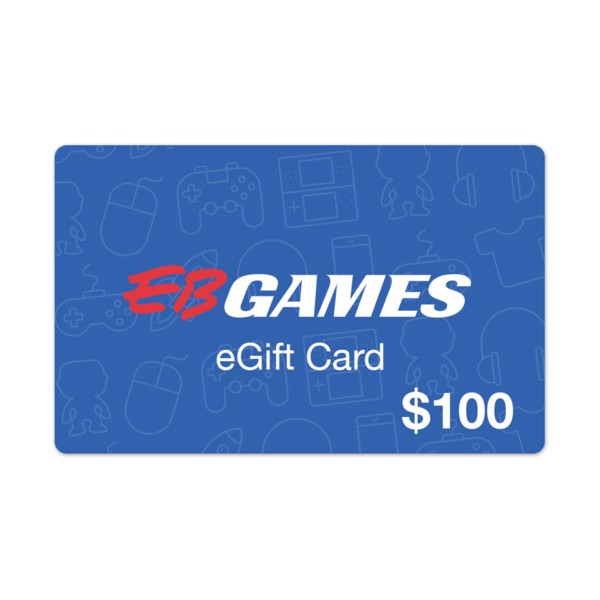 $100 EB Games Gift Card - Packshot 1
