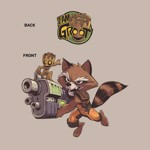 Marvel - Guardians of The Galaxy - Groot and Rocket T-Shirt - S - Packshot 2