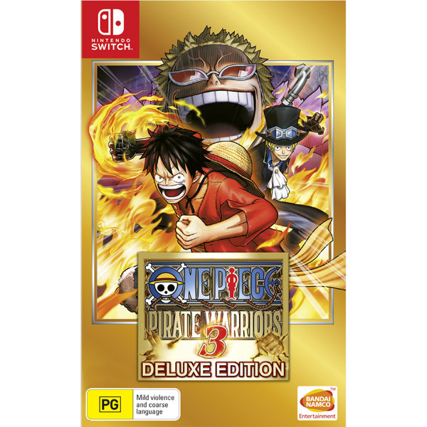 One Piece Pirate Warriors 3 - Packshot 1