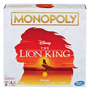 Disney - The Lion King Monopoly Board Game