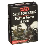 Dungeons and Dragons - Martial Powers and Races Spellbook Cards - Packshot 1