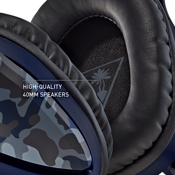 Turtle Beach Recon 70 Blue Camo Headset - Packshot 3
