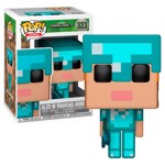 Minecraft - Alex with Diamond Armour Pop! Vinyl Figure - Packshot 1