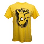 Pokemon - Detective Pikachu Silhouette Yellow T-Shirt - XL - Packshot 1