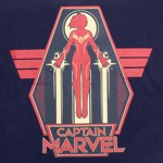 Marvel - Captain Marvel - Poster T-Shirt - L - Packshot 2