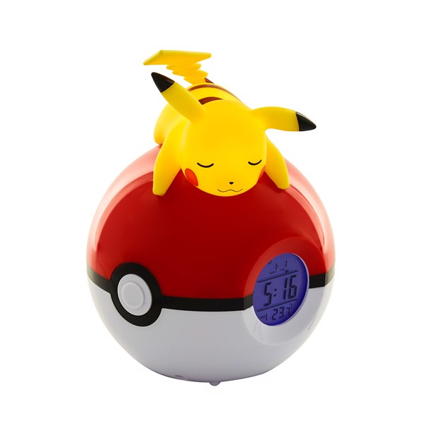 Pokemon - Pikachu Alarm Clock & Lamp - Packshot 1