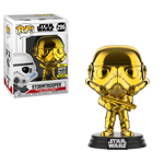 Star Wars - Stormtrooper Gold Chrome Pop! Vinyl Figure - Packshot 1