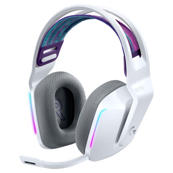 Logitech G733 Lightspeed Wireless RGB Gaming Headset - White - Packshot 1