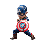 Marvel - The Avengers: Age of Ultron - Captain America Egg Attack 15cm Action Figure - Packshot 1