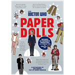 Doctor Who - Paper Dolls Punch-Out Craft Book - Packshot 1