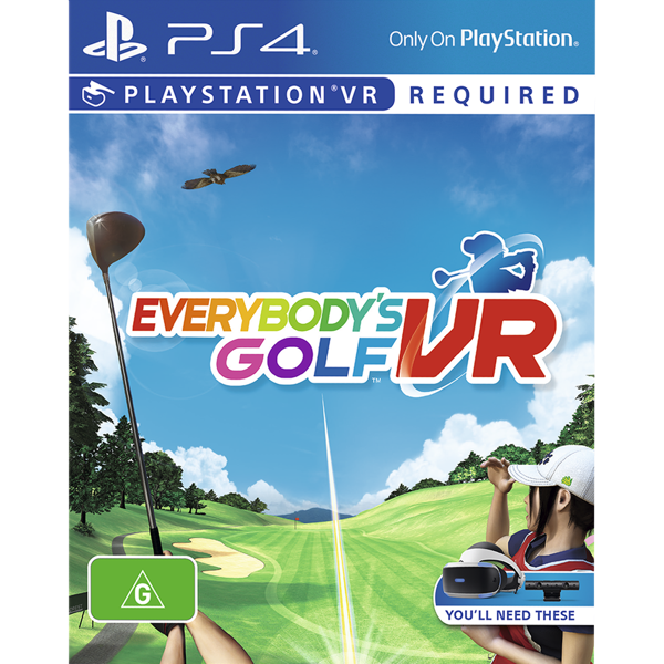 Everybody's Golf VR - Packshot 1