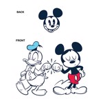 Disney - Mickey Mouse - Donald and Mickey T-Shirt - Packshot 2