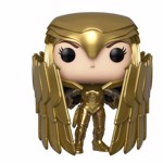 DC Comics - Wonder Woman 2 - Wonder Woman Gold Shield Pose Pop! Vinyl Figure - Packshot 1