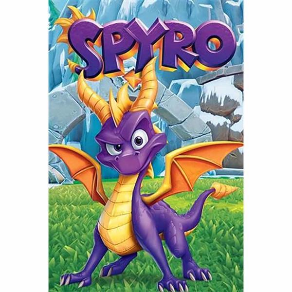 Spyro The Dragon Spyro Reignited Trilogy Poster Wall Art Zing Pop Culture