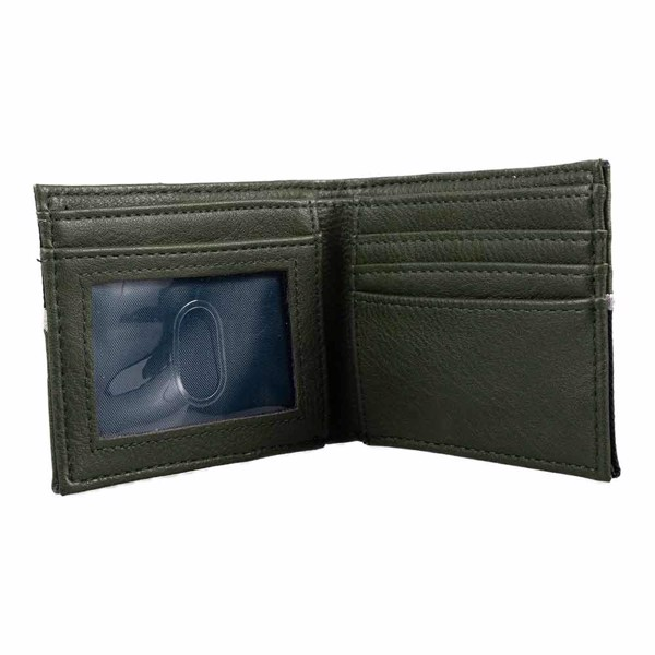 Harry Potter - Slytherin Green Bi-Fold Bioworld Wallet - Packshot 2