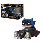 DC Comics - 50's Batman in Batmobile 80th Anniversary Pop! Ride Vinyl Figure - Packshot 1