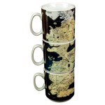 Game Of Thrones - Stacked Westeros Map Mug Set - Packshot 1