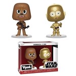 Star Wars - Chewbacca & C-3PO Vynl. Figures - Packshot 1