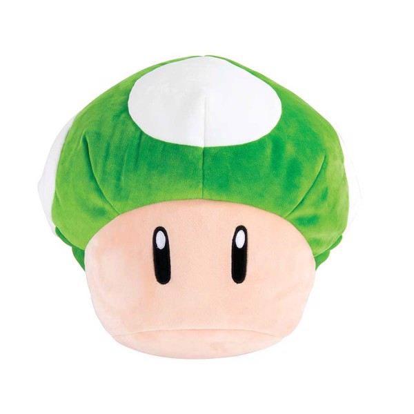 Nintendo - Mario - 1-Up Mushroom Mega Plush - Packshot 1