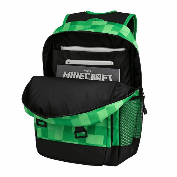 Minecraft - Survivalist Badges Backpack - Packshot 4