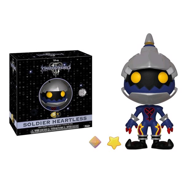 Kingdom Hearts III - Heartless Soldier 5-Star Vinyl Figure - Packshot 1