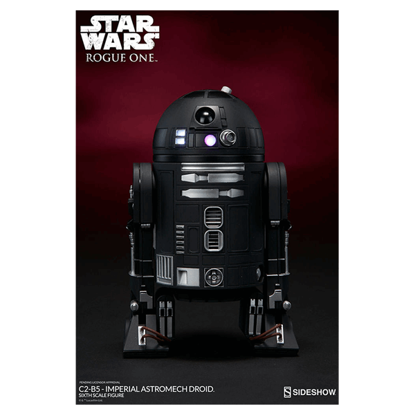 Star Wars - Rogue One - C2-B5 Imperial Astromech Droid 1/6 Scale Figure - Packshot 2