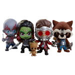 Marvel - Guardians of the Galaxy: Vol. 2 - Cosbaby Hot Toys 4-Pack Bobble Head Figure - Packshot 1
