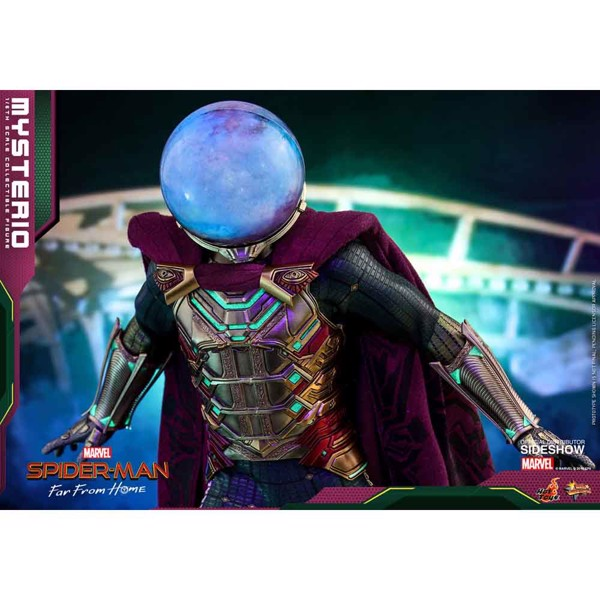 "Marvel - Spider-Man: Far From Home - Mysterio 1/6 Scale 12"" Action Figure - Packshot 3"