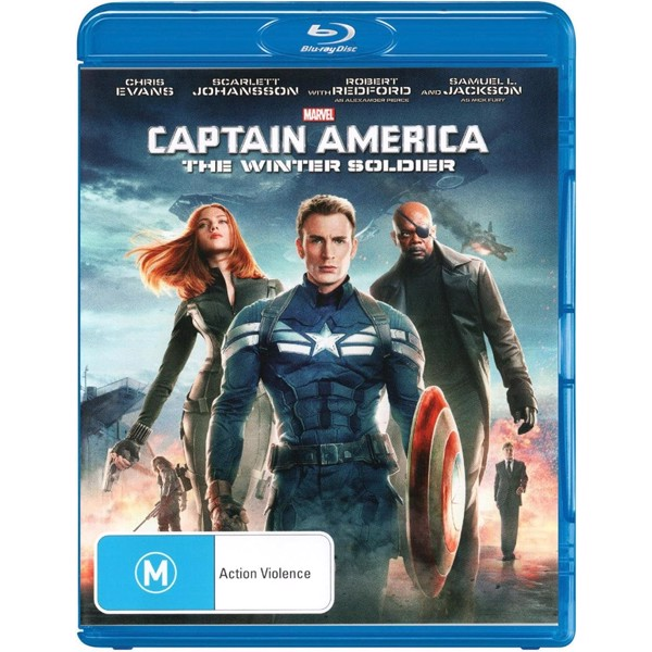 Marvel - Captain America: The Winter Soldier Blu-ray - Packshot 1