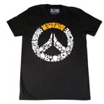 Overwatch - Logo Characters Black T-Shirt - Packshot 1